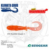 "Ecogear KIJIHATA GRUB 4"""