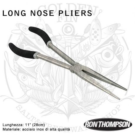 "Ron Thompson Long Nose Pliers 11"""
