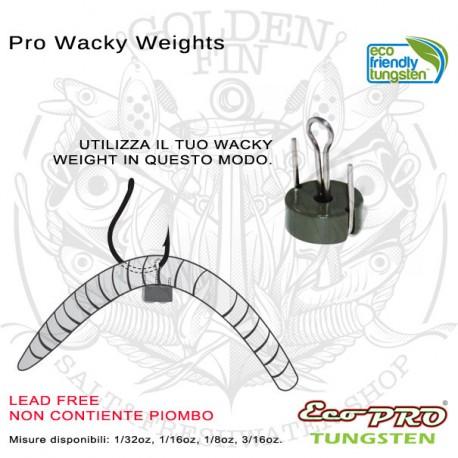Eco Pro Tungsten PRO WACKY WEIGHTS