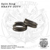 Golden Fin SPLIT RING HD
