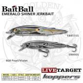 LiveTarget EMERALD SHINER BaitBall Jerkbait 90