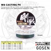 Gosen 8braid CASTING PE