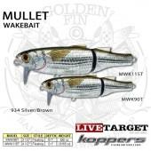 LiveTarget MULLET Wakebait 115