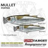 LiveTarget MULLET Popper 120