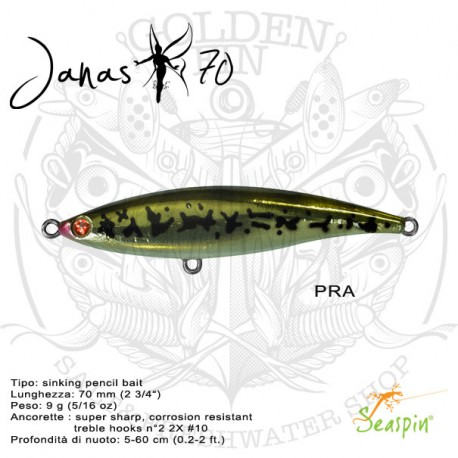 Seaspin Project JANAS 70
