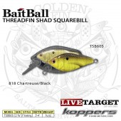 LiveTarget THREADFIN SHAD SQUAREBILL 60