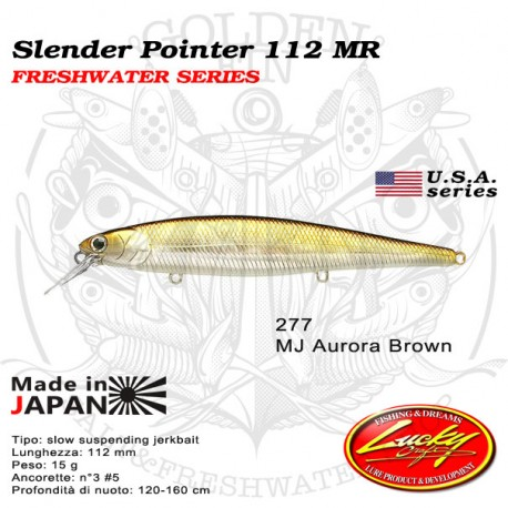 Lucky Craft SLENDER POINTER 112 MR