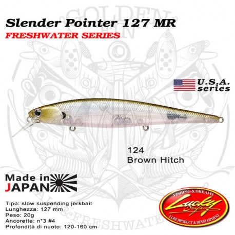 Lucky Craft SLENDER POINTER 127 MR