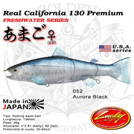 Lucky Craft REAL CALIFORNIA 130 PREMIUM