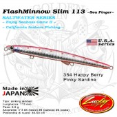 Lucky Craft FLASH MINNOW SLIM 113