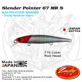 Lucky Craft SW SLENDER POINTER 67 MR S