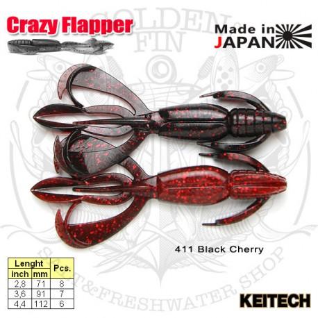 """Keitech CRAZY FLAPPER 2.8"""""""
