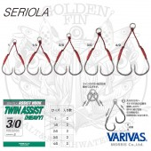 Varivas SERIOLA ASSIST HOOK Twin Assist HEAVY