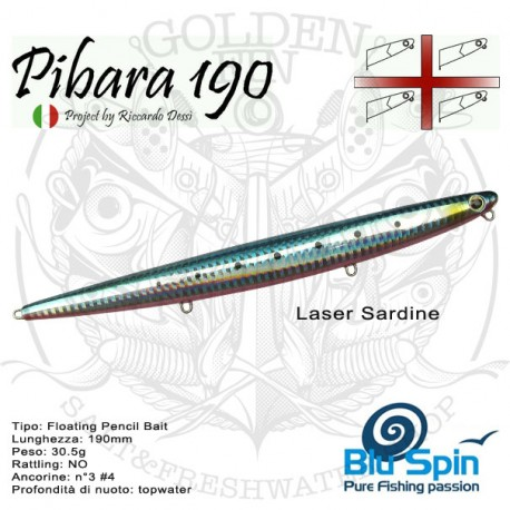 Bluspin PIBARA 190