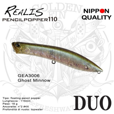 Duo REALIS PENCIL POPPER 110