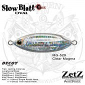 ZetZ Slow Blatt Cast OVAL 20g