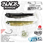 Fiiish BLACK MINNOW 70 DOUBLE COMBO