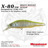 Megabass X-80SW HEAVY WEIGHT