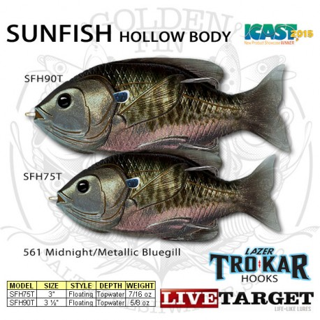 LiveTarget SUNFISH 75