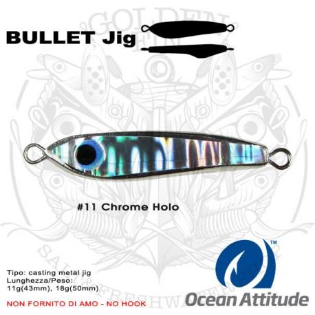 Ocean Attitude BULLET Jig 11g