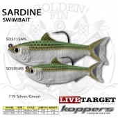 LiveTarget SARDINE SWIMBAIT 95