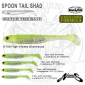 """Nories SPOON TAIL SHAD 5"""""""