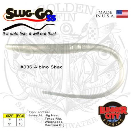 "Lunker City SLUG-GO SS 9"""