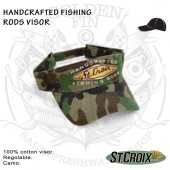 St.Croix HANDCRAFTED FISHING RODS Visor