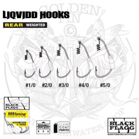 Black Flagg LIQVIDD REAR WEIGHTED HOOKZ
