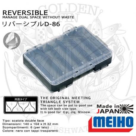 MEIHO REVERSIBLE D-86