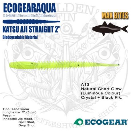 "Ecogear ECOGEARAQUA Katsu Aji Straight 2"""