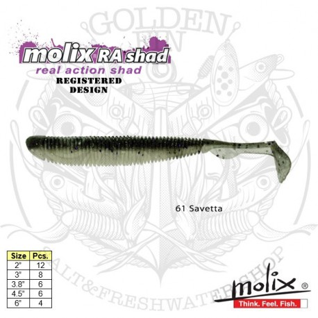"""Molix RA SHAD 3.8"""""""