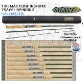 St.Croix TIDEMASTER INSHORE TRAVEL SPINNING