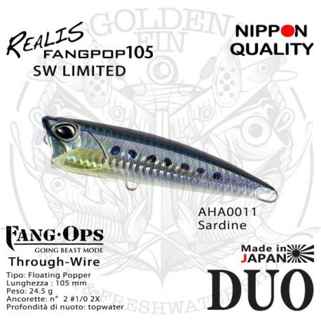 Duo REALIS FANGPOP 105 SW