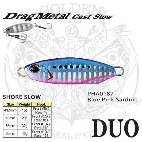 Duo DRAG METAL CAST SLOW 40g