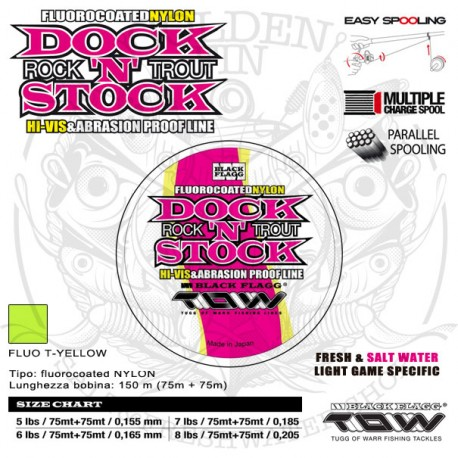 Black Flagg TOW DOCK'N'STOCK fluorocoated