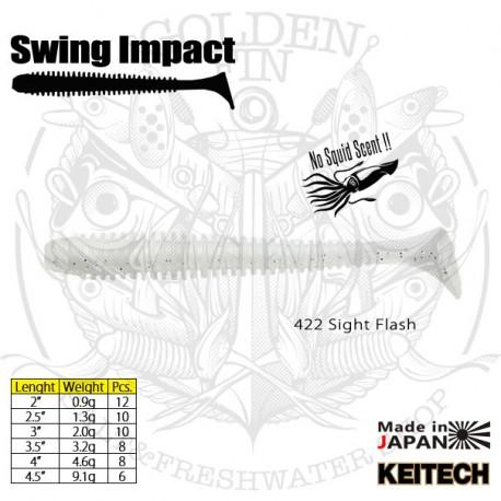 "Keitech SWING IMPACT 4.5"""