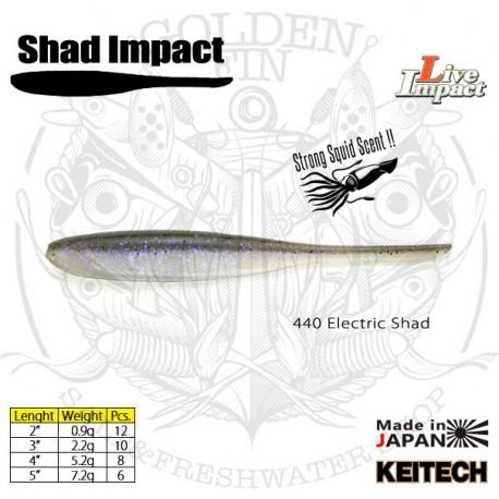"KEITECH SHAD IMPACT 3"""