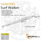 Savage Gear SANDEEL SURF WALKER 155 F