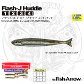 FISH ARROW FLASH-J HUDDLE 4""