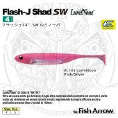 "FISH ARROW FLASH-J SHAD 4"" SW LumiNova"