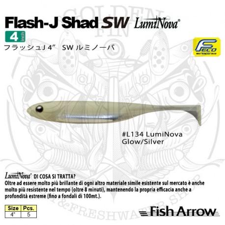 "FISH ARROW FLASH-J SHAD 4"" SW"