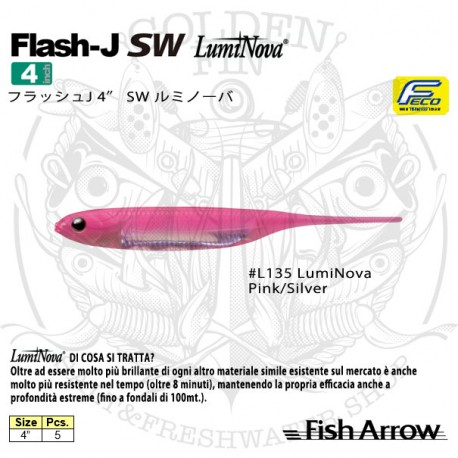 "FISH ARROW FLASH-J 4"" SW"