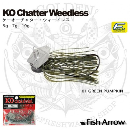 FISH ARROW KO CHATTER WEEDLESS 7g