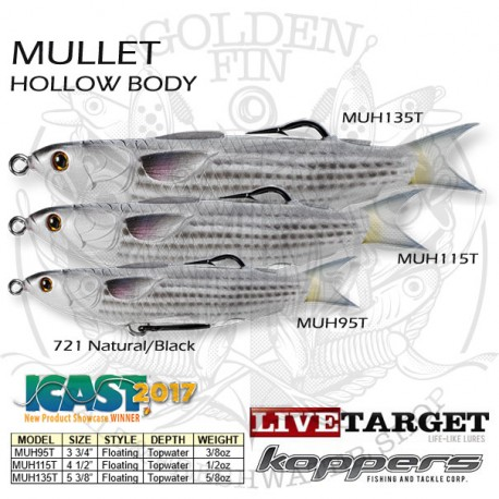 LiveTarget MULLET Hollow Body 115
