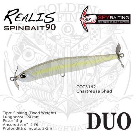 DUO REALIS SPINBAIT 90