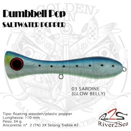 River2Sea Dumbell Pop 110