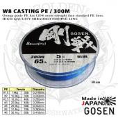Gosen W8 CASTING PE 300m