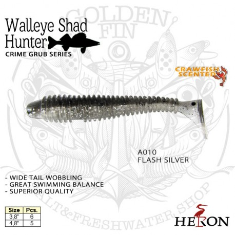 HERON WALLEYE SHAD HUNTER 3.8""