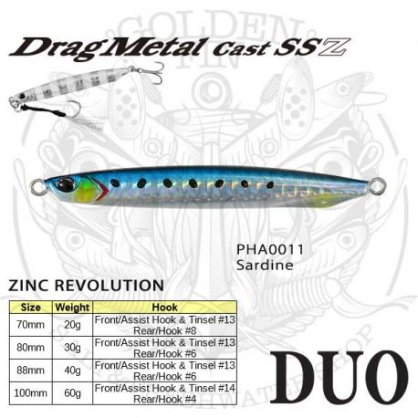 Duo DRAG METAL CAST SSZ 20g
